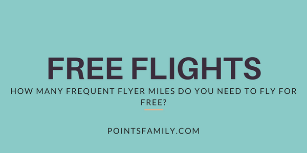 How Many Frequent Flyer Miles Do You Need to Fly for Free?