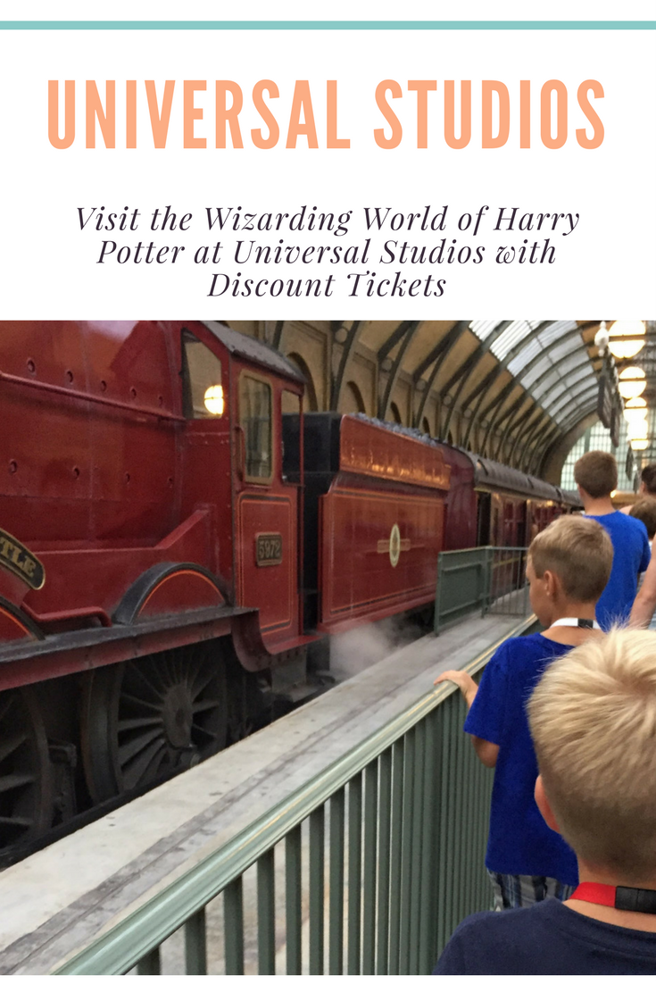 How to combine discount tickets, travel credits and upgrades to annual passes to score tickets for a family to Universal Studios Florida.