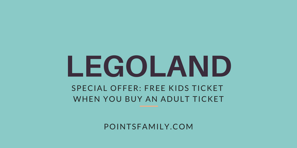 Legoland Free Kids Ticket When You Buy an Adult Ticket