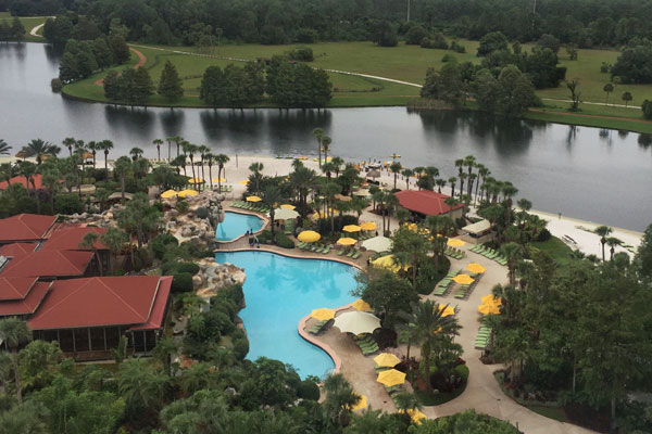 Hyatt Regency Grand Cypress View of Pools