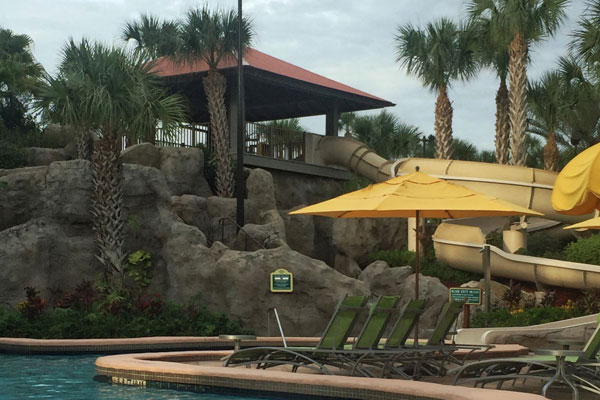 Hyatt Regency Grand Cypress Waterslide