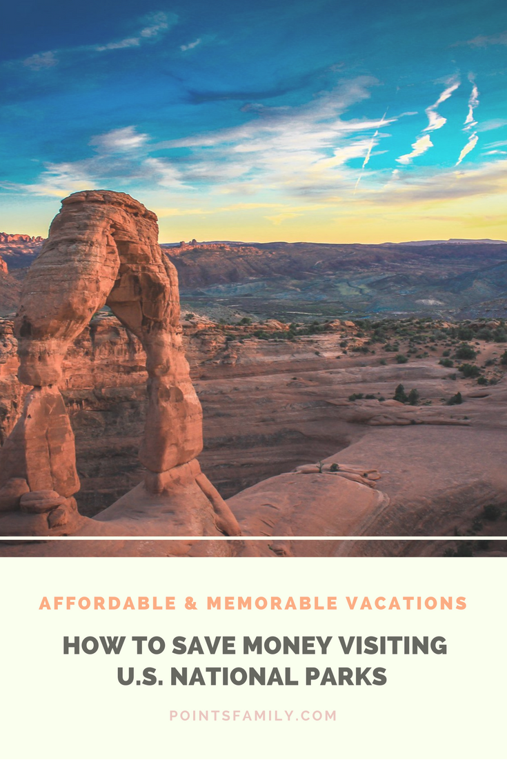 National Parks are an affordable, fun, and unique vacation destination. How to save money while visiting, what to bring, essential resources and more.