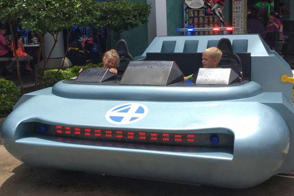 Universal Studios Fantastic Four