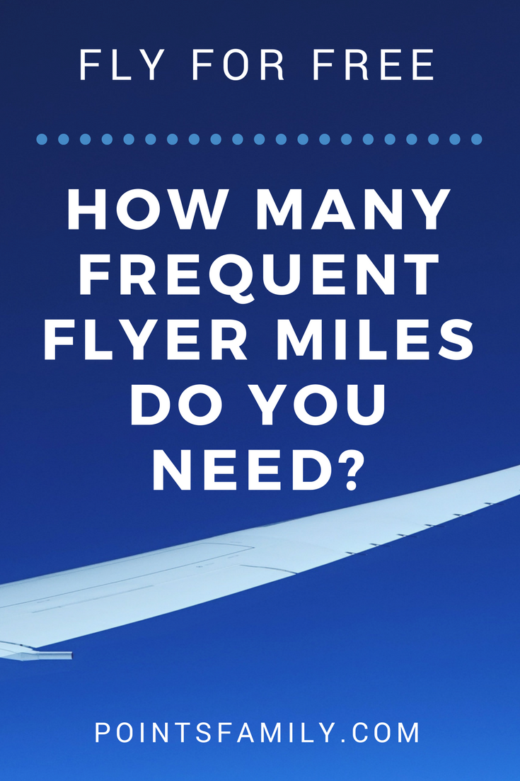 How Many Frequent Flyer Miles Do You Need to Fly?